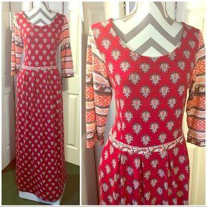 GORGEOUS maxi dress by REBORN size XL